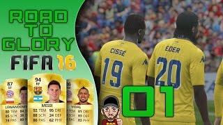 Road to Glory - Fifa 16 UT - ES GEHT LOOOOOOS!!! Folge 01