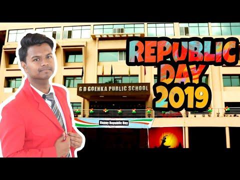 Republic day 2019 | vlog | G.D.goenka Gorakhpur