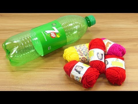 Home decorating idea with waste plastic bottle | best out of waste | plastic bottle reuse idea