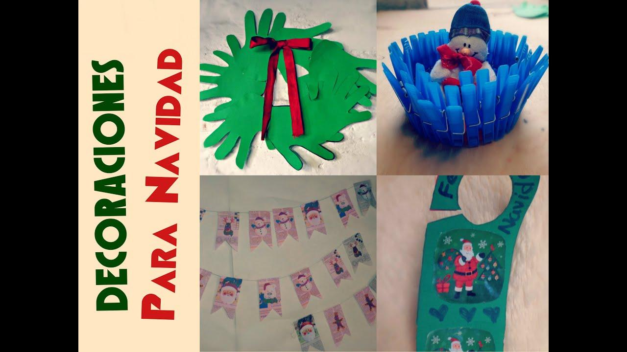 4 decoraciones navide as manualidades para ni os ojitoz for Decoracion navidena infantil