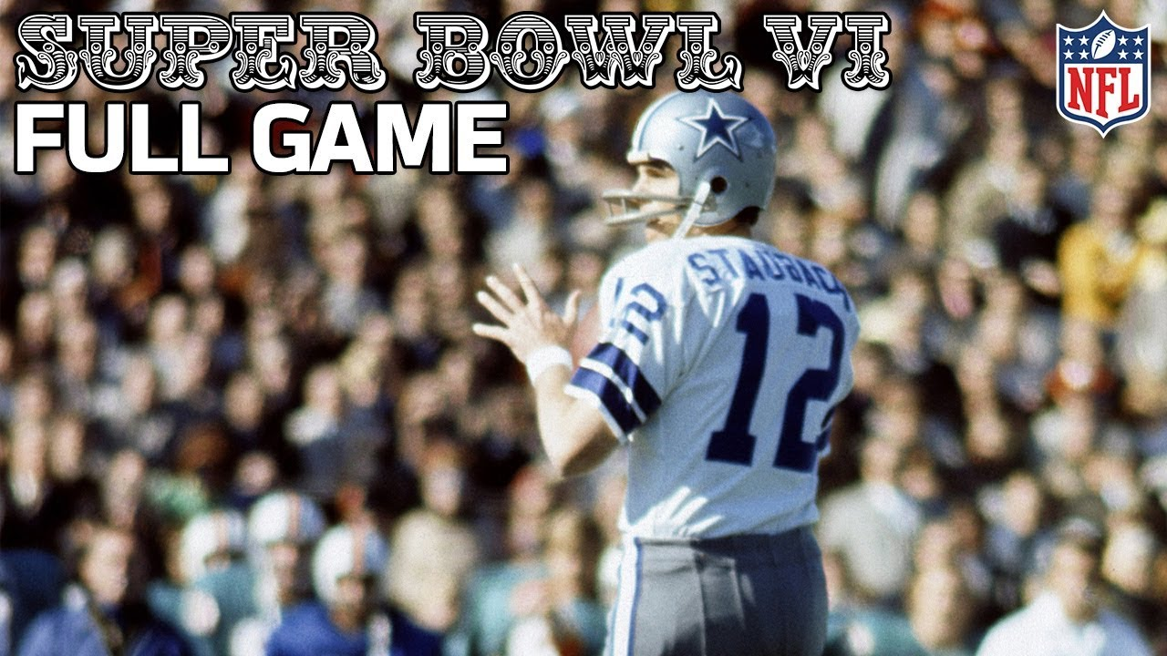 e3aa3d29f59 Cowboys Win Their First Super Bowl! | Cowboys vs. Dolphins Super Bowl VI |  NFL Full Game