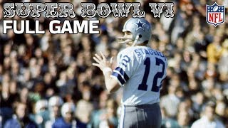Cowboys Win Their First Super Bowl! | Cowboys vs. Dolphins Super Bowl VI (FULL GAME) | NFL