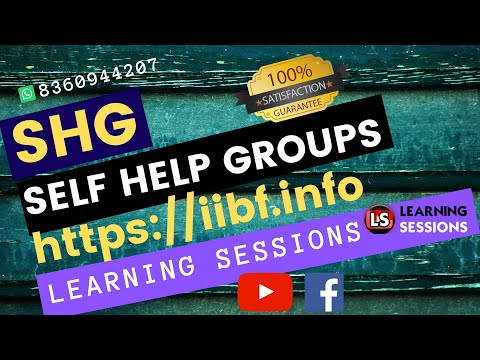 Self Help Groups - SHG in detail formation, credit linkage JAIIB Live Class [Hindi]