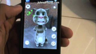 Talking Tom App Review - Hilarious! For iPhone & iPod Touch