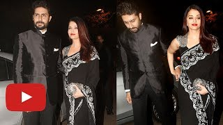 Aishwarya Rai Abhishek Bachchan Grand Entry At Mickey Contractor Party