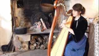 Inis Mona (Tri Martolod Yaouank) - Eluveitie - celtic harp / harpe