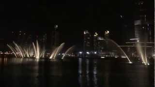 Dubai Fountain #Chinese song