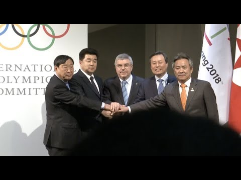 DPRK and South Korea to March Together at the Olympic Winter Games PyeongChang 2018