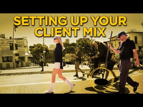 On-Set Wireless Headphones For Your Film | Setting Up Your Client Mix
