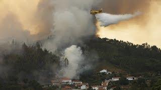 Португальцы наблюдают, как горят их дома (новости)