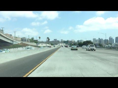 Bad Drivers & Random Clips - Los Angeles to San Diego
