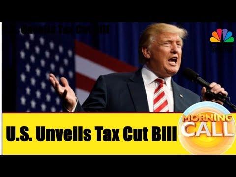 U.S. Unveils Bill For Tax Cut | Dow Jones Record High | Business News Today | 3rd Nov | CNBC Awaaz