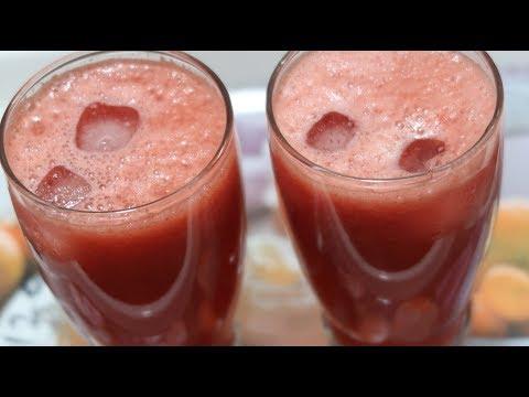 നിമിഷങ്ങൾക്കകം ഒരു ഫ്രഷ് ജ്യൂസ്/Fresh Watermelon Juice