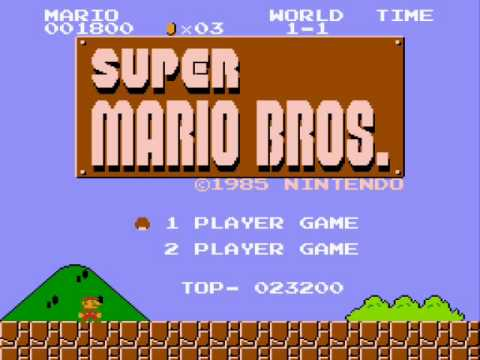(NES):Super Mario Bros.- First Level