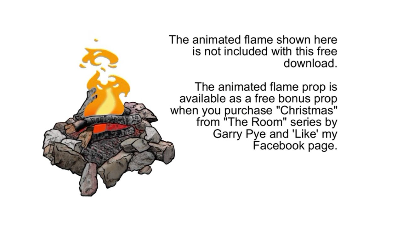 Free 'Fire Pit' prop for CrazyTalk Animator 2 by Reallusion from Garry Pye