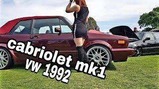 VW cabriolet mk1 🍀 volkswagen golf mk1 1.8 🏆 BBS (borrego garage)