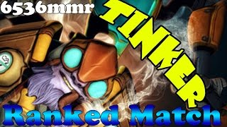 Dota 2 - LGD.YAO plays Tinker 6536mmr - Ranked Match