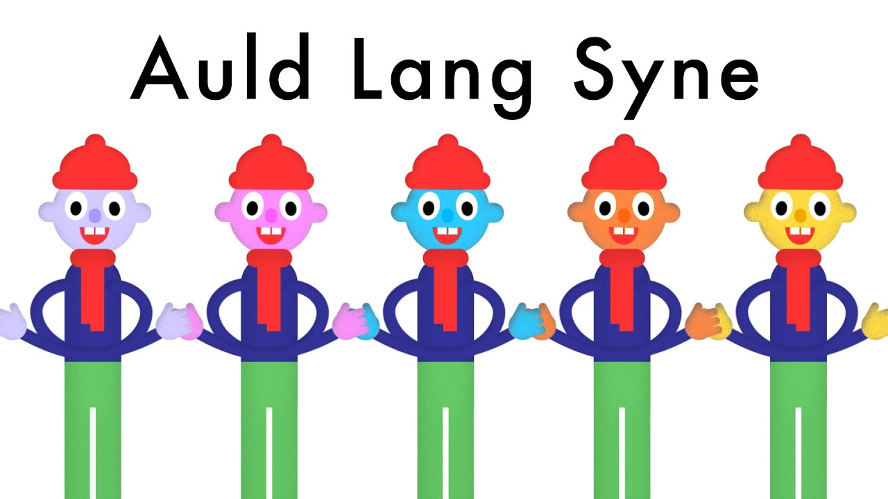 Auld Lang Syne - New Year Song - Lyrics (Robert Burns Poem ...