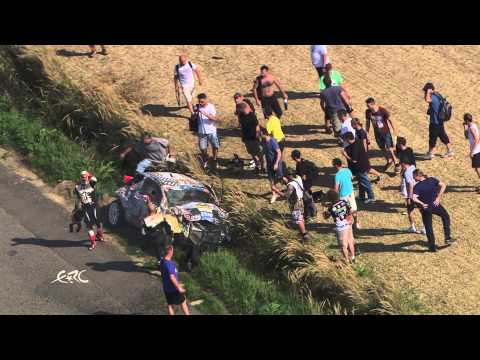 Impressive Footage Of A Huge Crash Of Consani In ERC Rally At Zlin