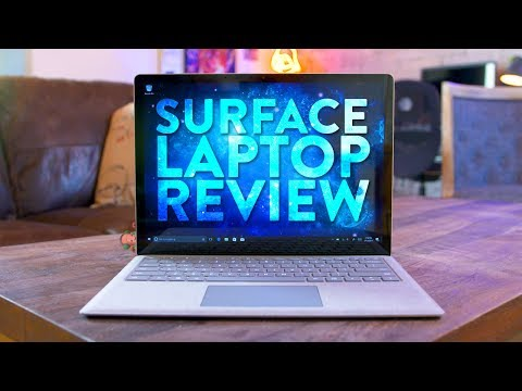 Surface Laptop Review (2017) - Best For Students?