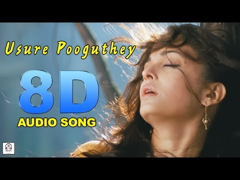 Usure Pooguthey 8D Audio Song | Raavanan Must Use Headphones | Tamil Beats 3D