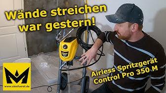 Wände streichen war gestern! - Wagner Airless Spritzgerät Control Pro 350 M im Praxistest