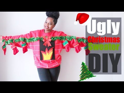 Ugly Christmas Sweater DIY | Christmas Party | Melissa Denise