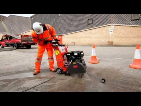 Speedy Services  Husqvarna Floor Saw  YouTube