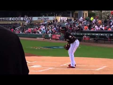 The Morning Rush - WATCH: Joel's First Pitch