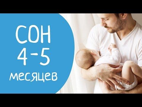 Почему ребенок в 4-5 месяцев плохо спит ?