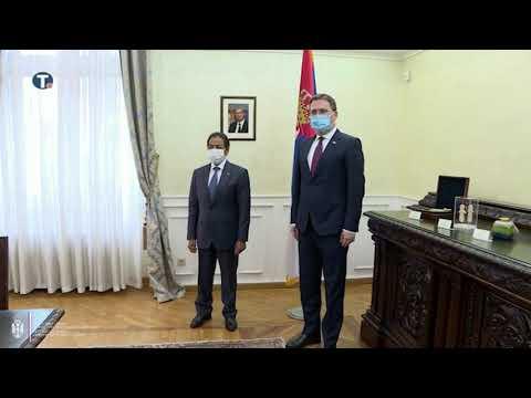 Министар Селаковић са амбасадором Катара о унапређењу билатералних односа