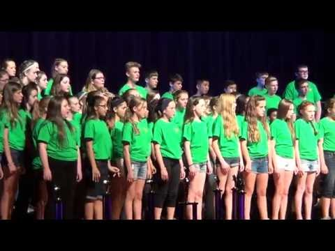 Wood Intermediate's Award Winning Honor Choir's Rendition of Toto's Africa