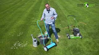 Tipps zur richtigen Rasenpflege - Gartentipps von Volker Kugel - www.grünzeug.tv