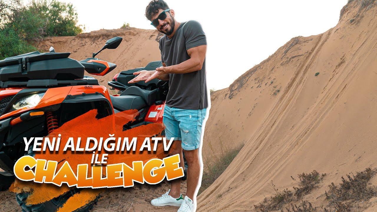 1000 cc ATV ALDIM | Kum Tepesine Çıktım!