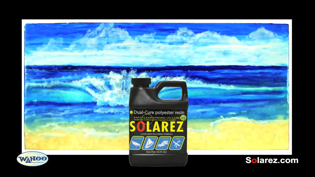 Solarez Low-VOC Dual Cure UV Resin Painting