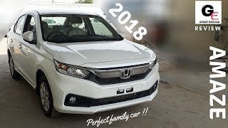 2018 Honda Amaze VX | launched | most detailed review | price | features | specifications !!!