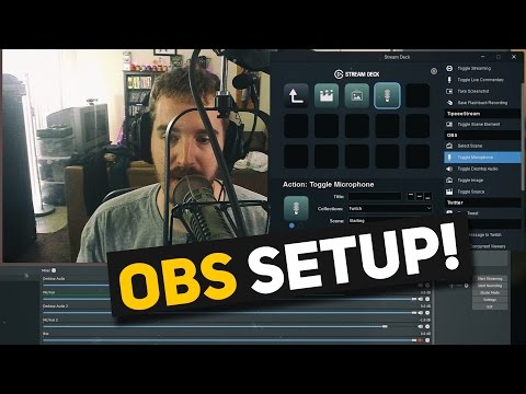 Elgato Stream Deck Tutorial - How to use Stream Deck with OBS Studio to enhance your live streams!
