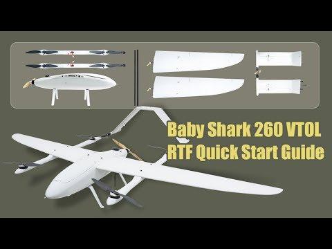 Baby Shark 260 VTOL RTF Quick Start Guide