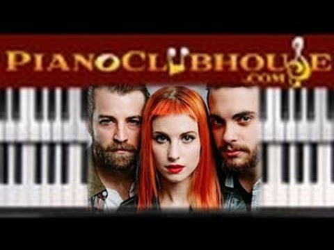 """♫ How to play """"AIN'T IT FUN"""" by Paramore (piano tutorial lesson)"""