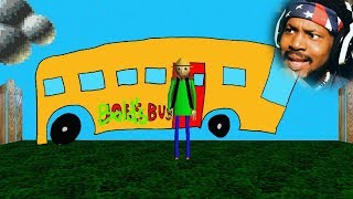 DO NOT GET ON THE BUS | Baldi's Camping Field Trip (DEMO)