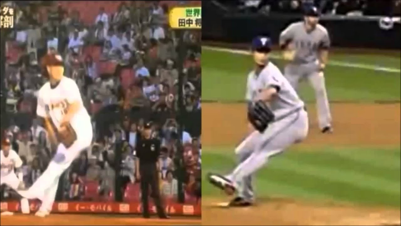 Tanaka and Darvish Pitching Mechanics Side by Side - YouTube