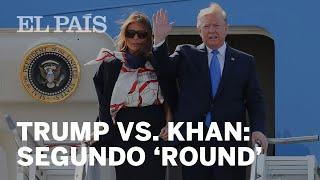 TRUMP insulta a KHAN antes de llegar al REINO UNIDO