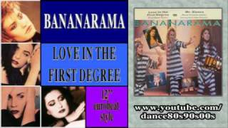 BANANARAMA - Love In The First Degree (12'' eurobeat style)
