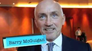 BARRY McGUIGAN REACTS TO HEATED FRAMPTON v QUIGG PRESSER & TALKS PREVIOUS FALLOUT W/ EDDIE HEARN