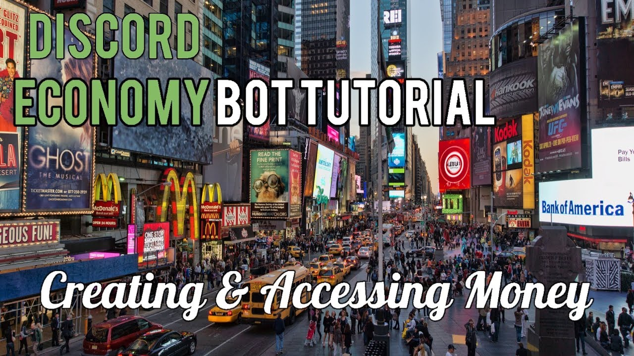 Discord Economy Bot Tutorial | Creating & Accessing Money [1]