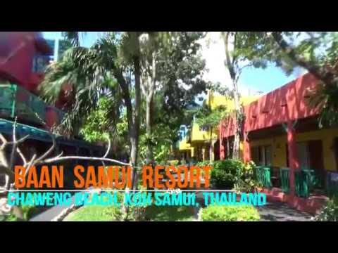Baan Samui Resort, Chaweng Beach, Koh Samui (Jan 2017)