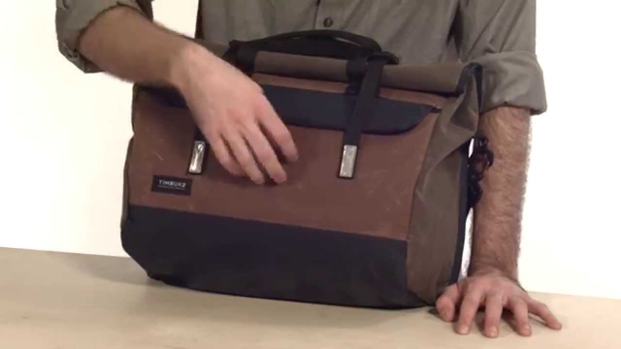 Timbuk2 Custom Prospect Laptop Messenger Bag - YouTube 1c6fa69801a18