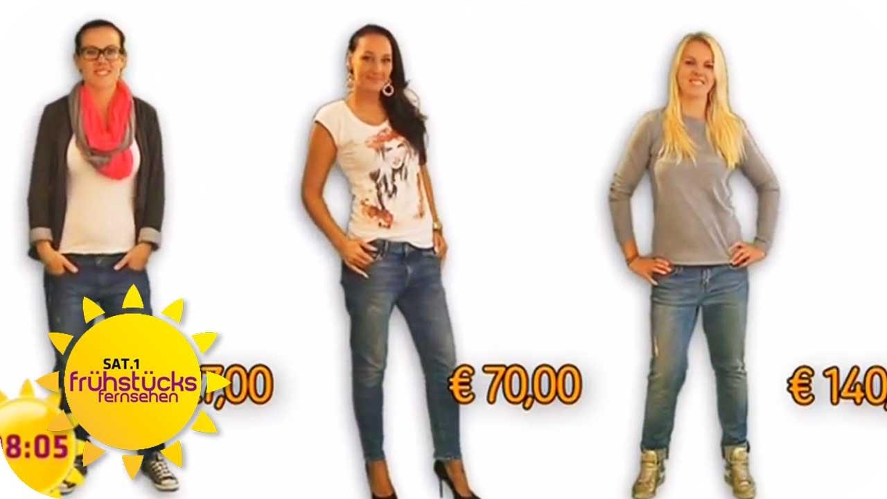 Lexxury Damen Jeans Stretch Hose Baggy Boyfriend Quer Nähte Braun XS S M L XL