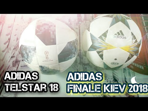 ADIDAS TELSTAR 18 VS. ADIDAS FINALE KIEV 2018 // COMPARATIVO // BALONES TOP TRAINNING