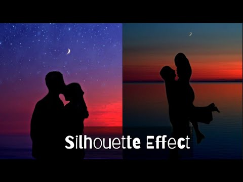 Silhouette Effect Using Picsart    Aesthetic Picsart Editing Tutorial.